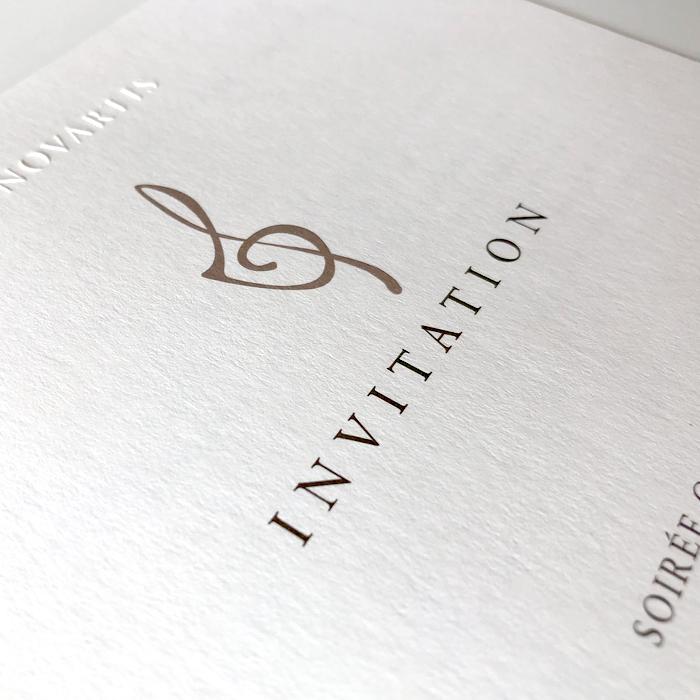 Einladung Illustration Typografie