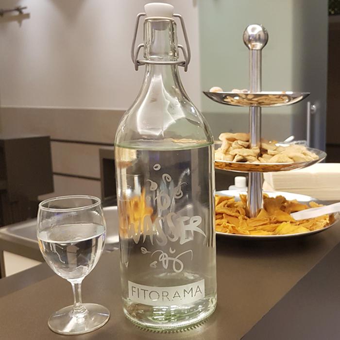 Design Gravur Flasche