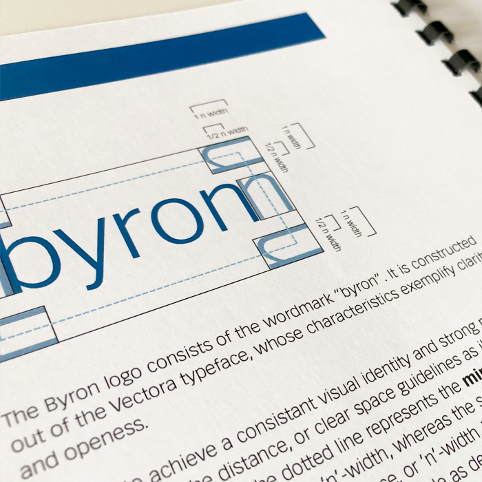 Byron Manual Logo Design