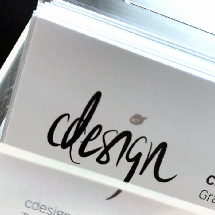 Visitenkarten Logo Design