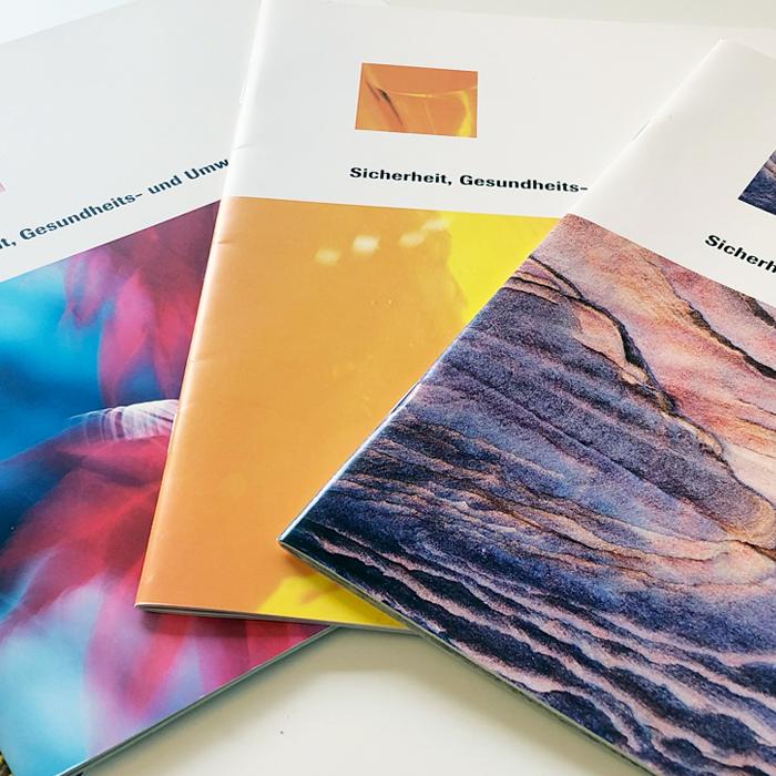 Umweltbericht Grafik Design