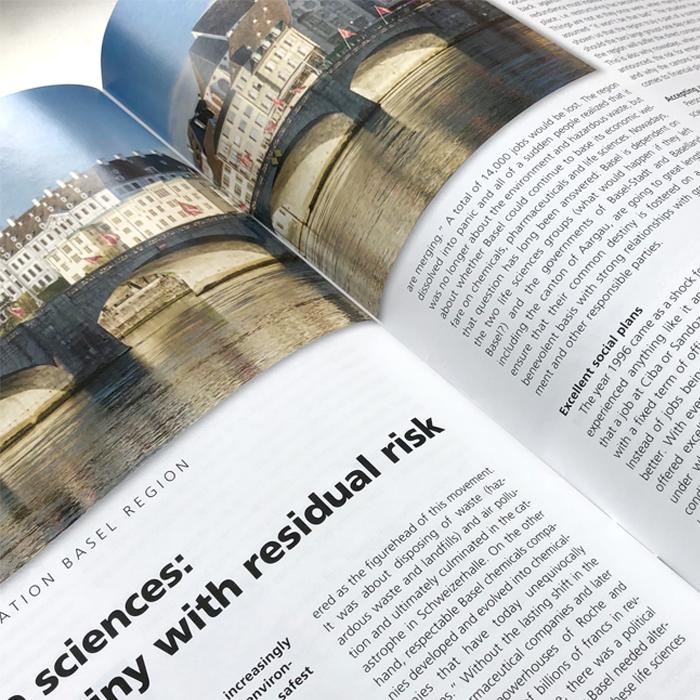 Zeitschrift Design Konzept